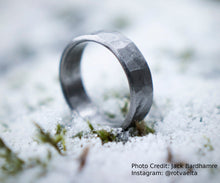 Load image into Gallery viewer, Rustic Titanium Ring