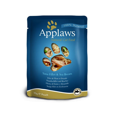 Applaws katt Påse Tuna&Seabream 70gr