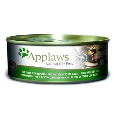 Applaws katt konserv Tuna Fillet&Seaweed 70gr