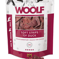WOOLF SOFT STRIPS OF DUCK 100G