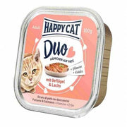 Happy Cat Duo Menu Fugl & Laks 100g