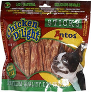 HUNDSNACKS CHICKEN DLIGHT STICKS 400GR