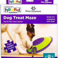 DOG TREAT MAZE PLAST