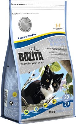 BOZITA FELINE OUTDOOR & ACTIVE 400GR
