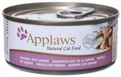 Applaws katt konserv Mackerel + Sardine 70gr