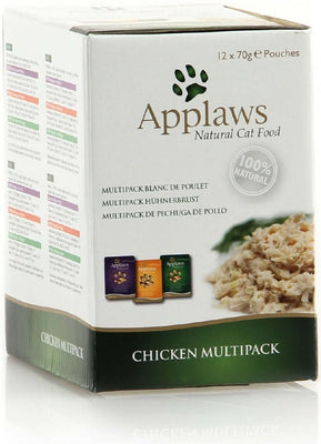 Applaws katt Påse Chicken Multimix 12x70gr