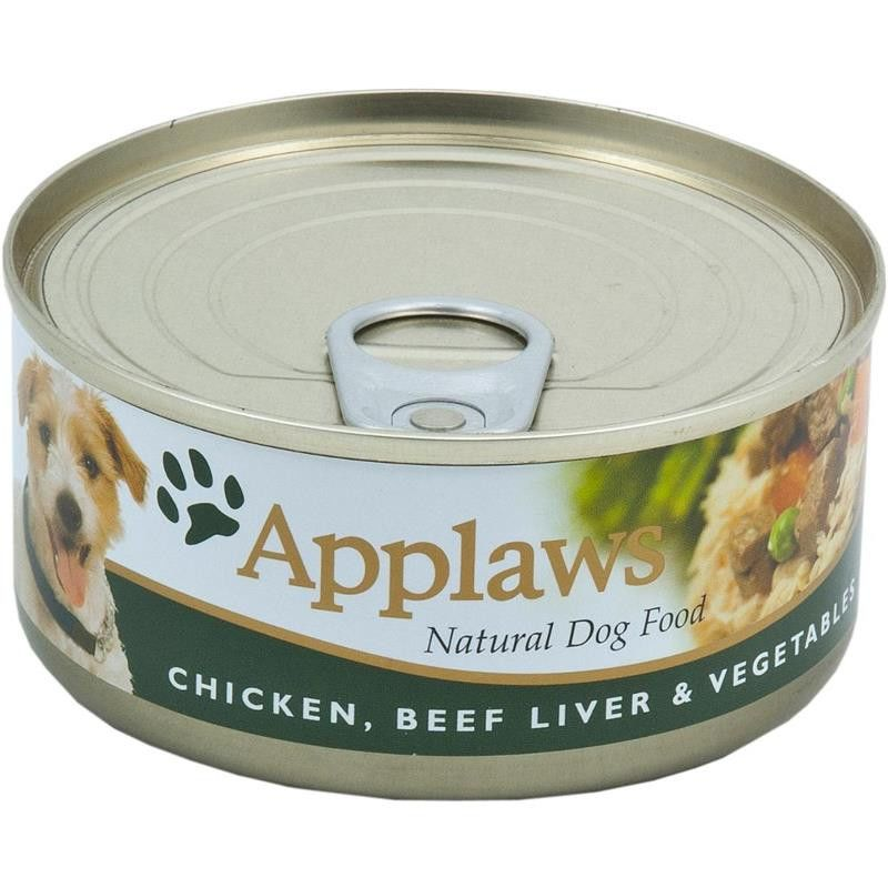 Applaws hund konserv Chicken,Beef,Liver& 156g