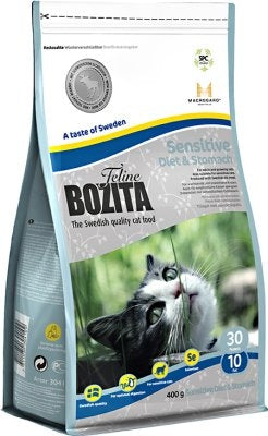 BOZITA FELINE DIET & STOMACH 400GR
