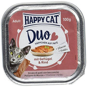 Happy Cat Duo Menu Fugl & Kjøtt 100g