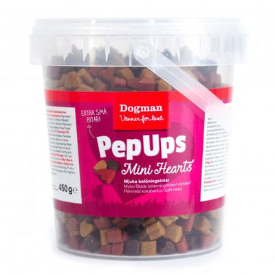 Pep Ups Mini Hearts 450gr