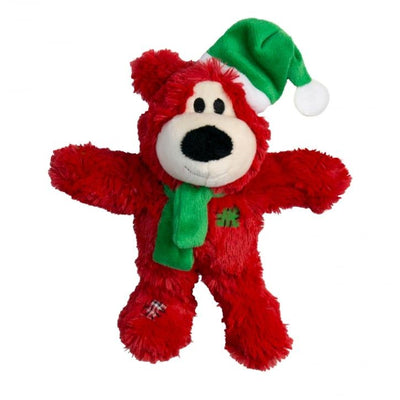 KONG Holiday Wild Knots Bear Assorted, s