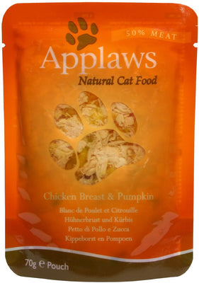 Applaws katt Påse Chicken&Pumpkin 70gr