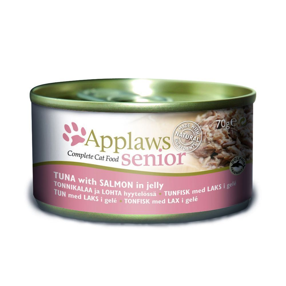 Applaws katt konserv Tuna+Salmon Senior 70gr