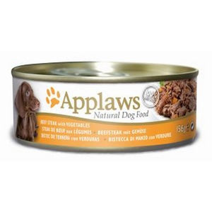 Applaws hund konserv Beefsteak&Vegetable 156g