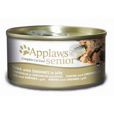 Applaws katt konserv Tuna+Sardine Senior 70gr