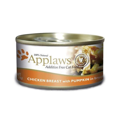 Applaws katt konserv Chicken Breast&Pump 70gr