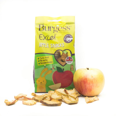 Burgess Apple Snacks 80gr