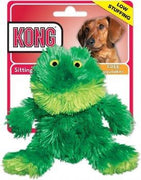Kong Plush Frog Dog Toy-small
