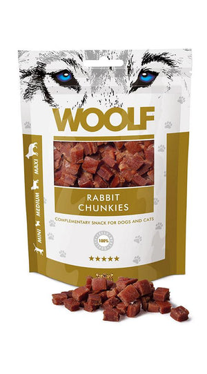 WOOLF RABBIT CHUNKIES 100G