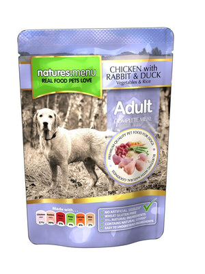 NM POUCHES HUND ADULT KYLLING OG AND 300G
