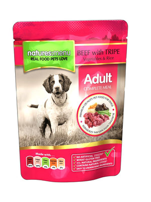 NM POUCHES HUND ADULT BIFF OG INNMAT 300G