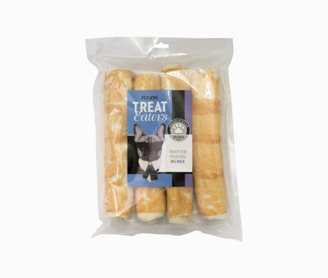 Treateaters Chicken Rolls 23 cm, 4 pcs