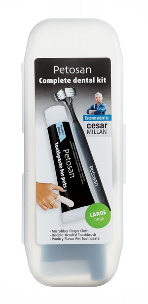 Petosan Complete Dental Kit For Large Dogs.
