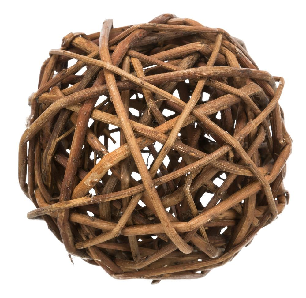 Wicker Ball Ø10cm