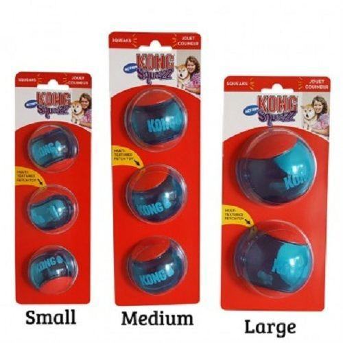KONG Squeezz Action Red, small, PSA33E