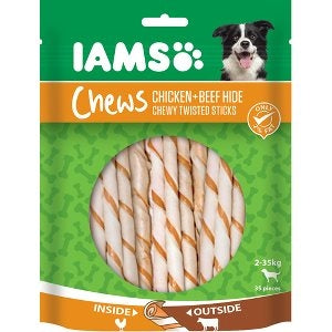Iams twisted sticks chicken 35 stk. 35 stk