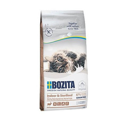 Bozita Indoor & Sterilised Grain free Re