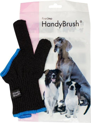 HANDY BRUSH 2 FINGERHUNDTANDBORSTE BLÅ