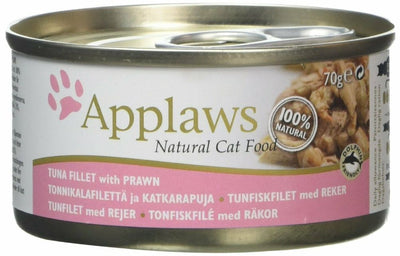 Applaws katt konserv Tuna Fillet&Prawn 0gr : 70gr