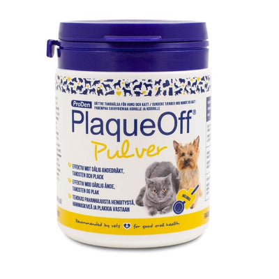 PLAQUEOFF ANIMAL 180GR NORDISK TEXT