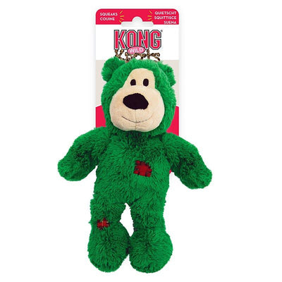 KONG Holiday Wild Knots Bears, small/med