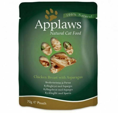 Applaws katt Påse Chicken&Aspargus 70gr