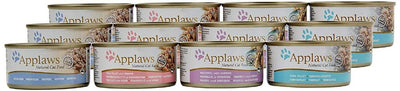 Applaws katt konserv Fish Collection 12x70gr