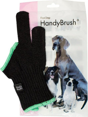 HANDY BRUSH 2 FINGERHUNDTANDBORSTE GRÖN