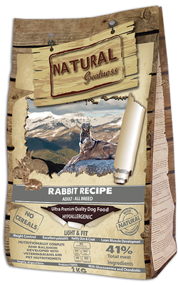 Rabbit Recipe – Light & Fit Ultra Premium - Voksen - alle raser