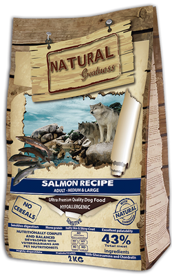 Salmon Recipe – Sensitive Ultra Premium – Voksen  - Medium & Large Breed 2