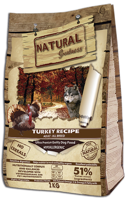 Turkey Recipe Ultra Premium - Voksen - Alle raser