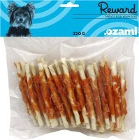 CHEWING STICK WITH CHICKEN 11CM 320GR