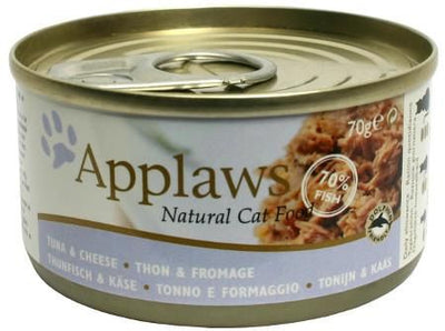 Applaws katt konserv Tuna Fillet&Cheese 70gr
