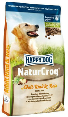 Happy Dog Natur Croq Oksekjøtt & Ris 15K