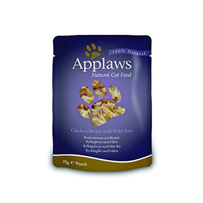 Applaws katt Påse Chicken&Wildrice 70gr