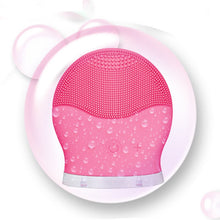 Load image into Gallery viewer, Facial Cleansing Brush Electric Massager