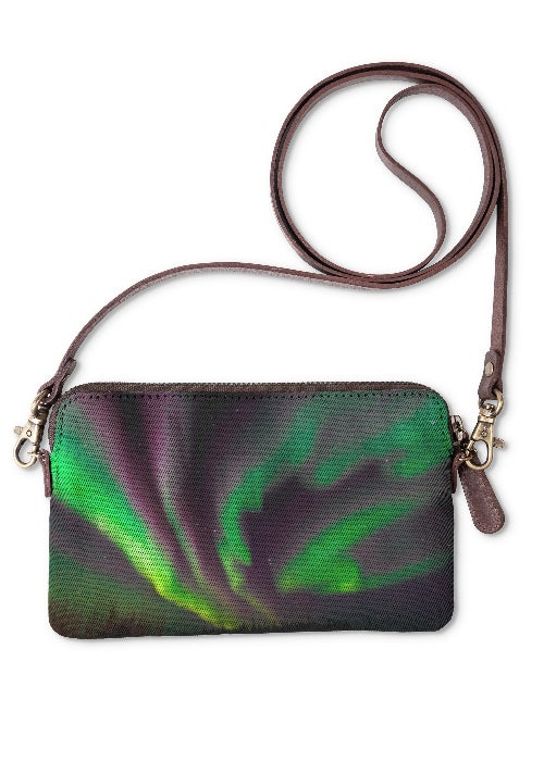 Aurora Ribbon Dance - Statement Clutch