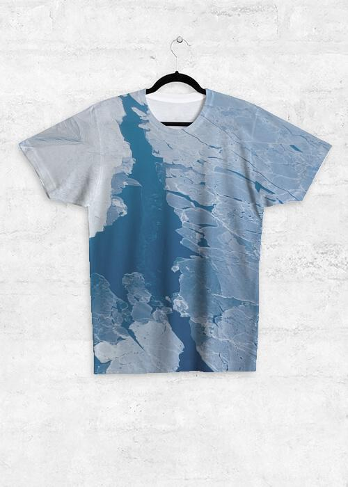 Northwest Passage - Unisex Tee Shirt with front print