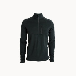 Men's Wool Fleece Half Zip