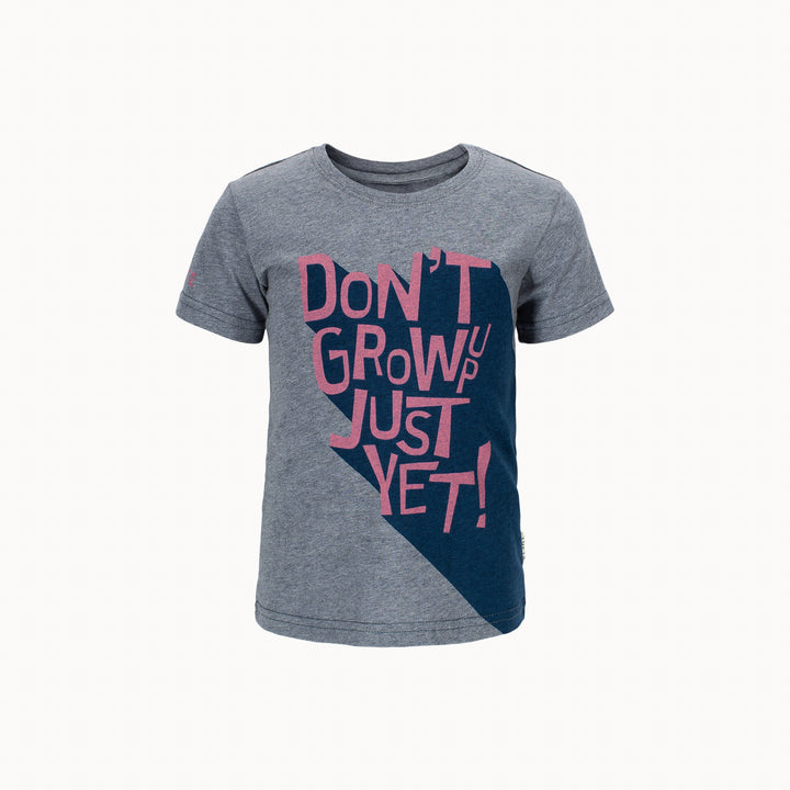 Kids Eco T-shirt - Don't Grow Up Yet!